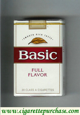 Discount Basic cigarettes Smooth Rich Taste Full Flavor