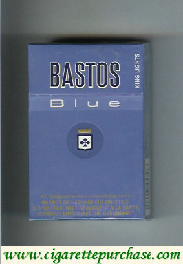 Discount Bastos Blue cigarettes King Lights