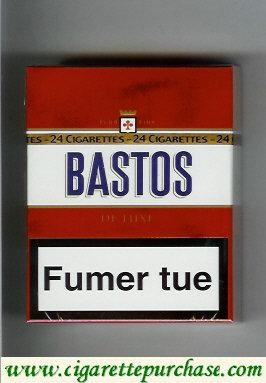 Discount Bastos De Luxe cigarettes fumer tue 24