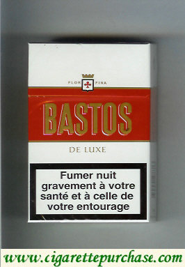 Discount Bastos De Luxe cigarettes hard box