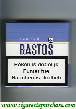 Discount Bastos Filter Filtre cigarettes hard box 25