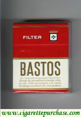 Discount Bastos Filter short cigarettes hard box