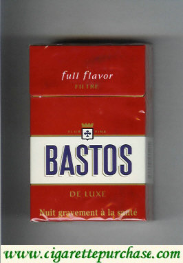 Discount Bastos Full Flavor De Luxe Filtre cigarettes