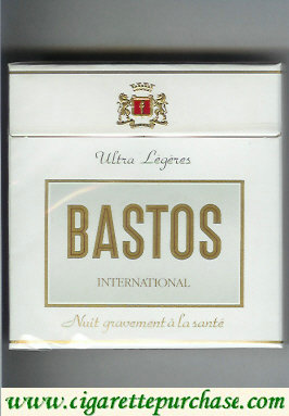 Discount Bastos International Ultra Legeres cigarettes hard box