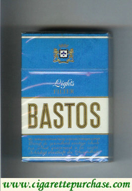 Discount Bastos Lights Filter cigarettes hard box