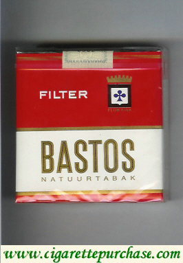 Discount Bastos Natuurtabak Filter cigarettes short soft box
