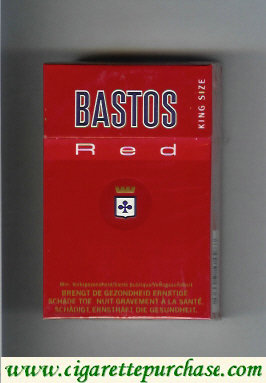 Discount Bastos Red cigarettes king size