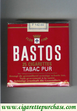 Discount Bastos Tabac Pur 25 cigarettes soft box