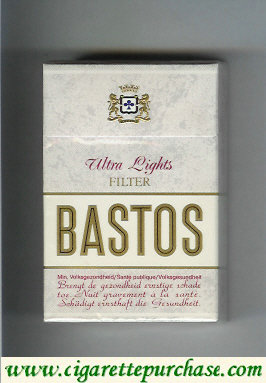 Discount Bastos Ultra Lights Filter cigarettes