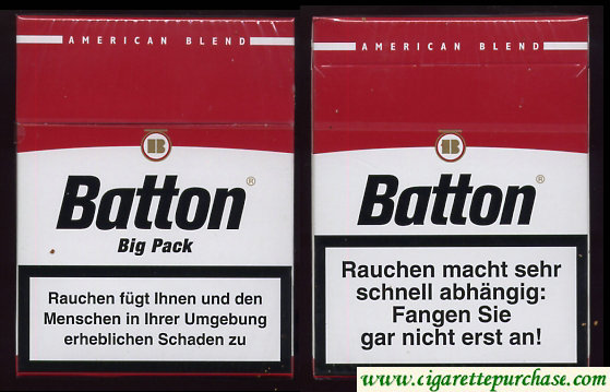 Batton Big Pack-red cigarettes American Blend