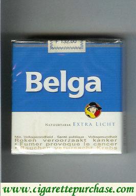 Discount Belga Extra Licht cigarettes Natuurtabak 25 soft box