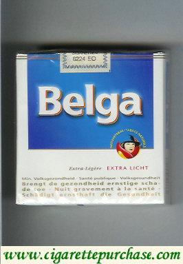 Discount Belga Licht Extra Licht cigarettes White&Blue soft box