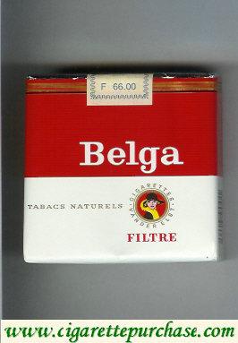 Discount Belga Tabacs Naturels Filtre red 25 cigarettes soft box