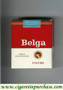 Belga Tabacs Selectionnes Filtre 20 cigarettes red soft box