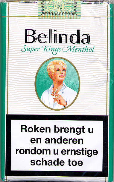 Belinda sigaretten super kings menthol