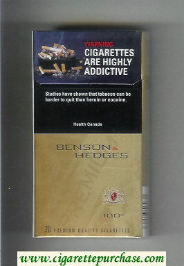 Benson and Hedges 100s cigarettes canada