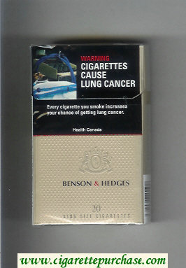 Benson and Hedges Gold Lights cigarettes Canada