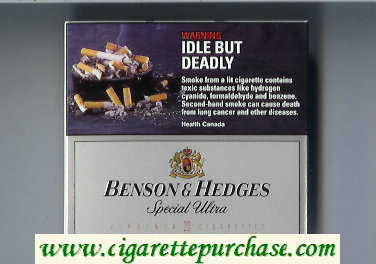 Benson and Hedges Special Ultra cigarettes short
