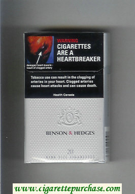 Benson and Hedges cigarettes Silver Ultra