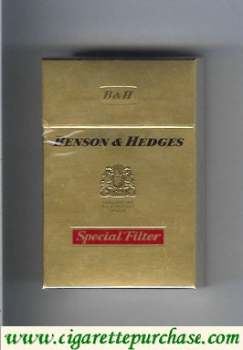Benson and Hedges Special Filter cigarettes king size