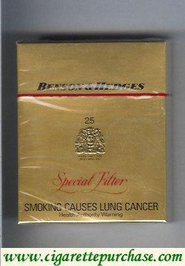 Discount Benson Hedges 25 cigarettes Special Filter Australia