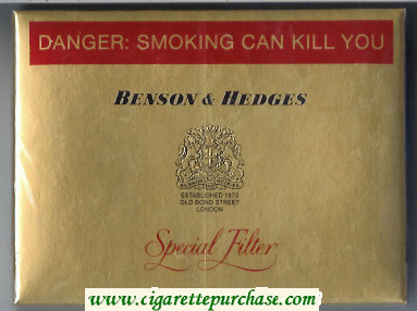 Discount Benson Hedges 30 cigarettes Special Filter South Africa