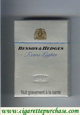 Discount Benson Hedges Extra Lights cigarette France