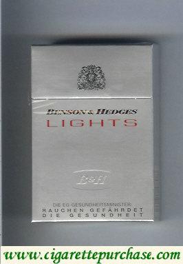 Discount Benson Hedges Lights cigarette Germany
