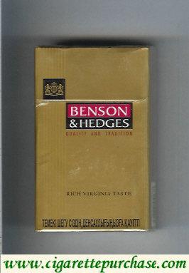Discount Benson Hedges Rich Gold cigarette Kazakhstan