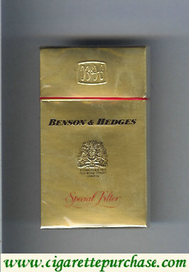 Discount Benson Hedges Special Filter cigarettes Malaysia