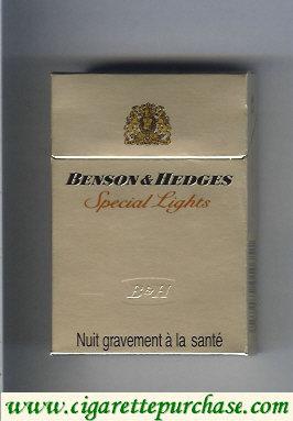 Discount Benson Hedges Special Lights cigarette France
