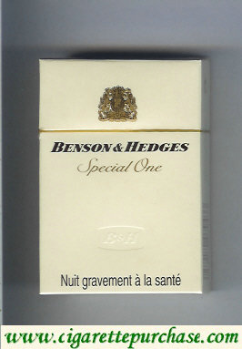 Discount Benson Hedges Special One cigarette France