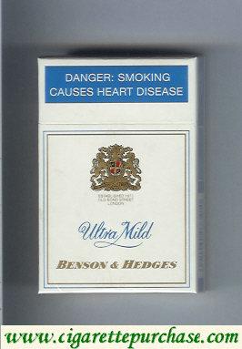 Discount Benson Hedges Ultra Mild cigarette South Africa