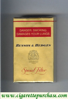 Discount Benson Hedges cigarettes Special Filter South Africa