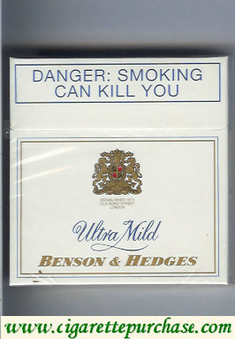 Discount Benson and Hedges Ultra Mild cigarettes South Africa