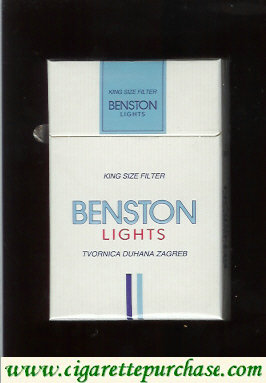 Benston Lights cigarettes
