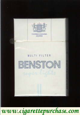 Benston Multifilter Super Lights cigarerttes Croatia