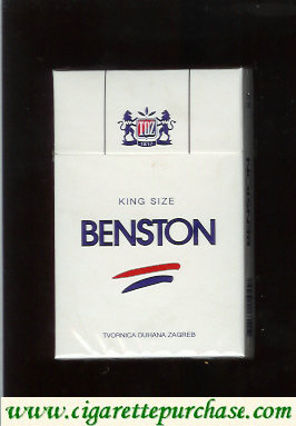 Benston king size cigarettes with two horizontal lines Croatia