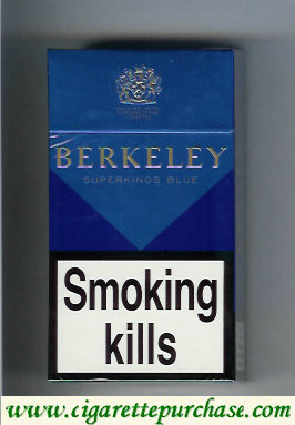 Berkeley Blue cigarettes England