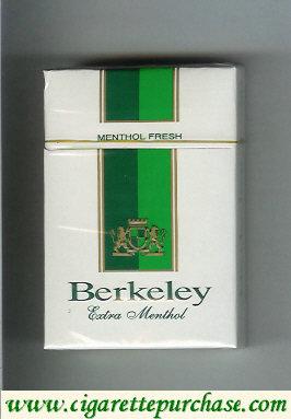 Discount Berkeley Extra Menthol cigarettes