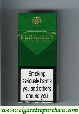Discount Berkeley Menthol cigarettes green England
