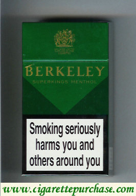 Discount Berkeley Menthol cigarettes