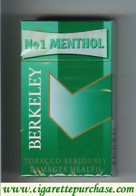 Berkeley No1 Menthol cigarettes long