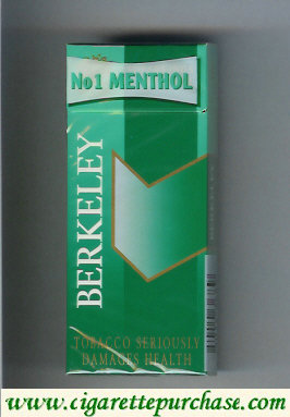 Discount Berkeley No1 Menthol cigarettes