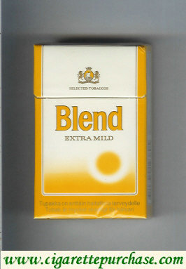 Discount Blend Extra Mild cigarettes Finland Sweden
