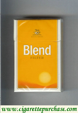 Blend Filter cigarettes Selected Tobaccos