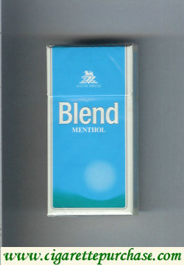 Blend Menthol cigarettes Selected Tobaccos