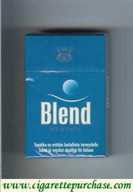 Discount Blend Menthol cigarettes Sweden