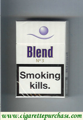 Blend No 3 cigarettes Sweden