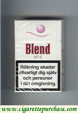 Blend No.4 cigarettes Sweden